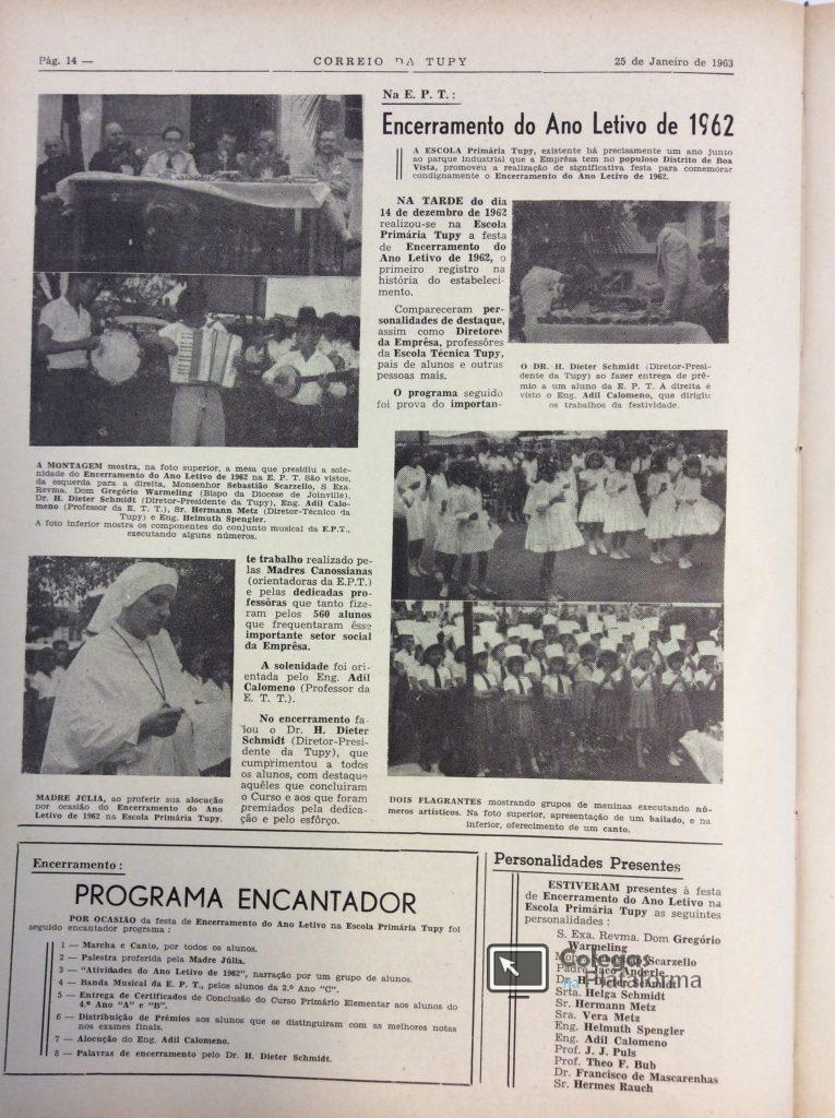 1962 dez Encerramento 1962