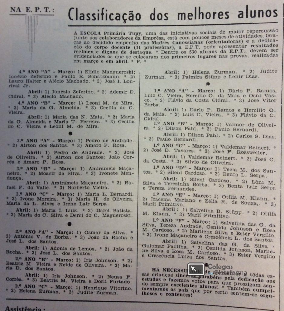 1962 jul Classificação Alunos - Cópia