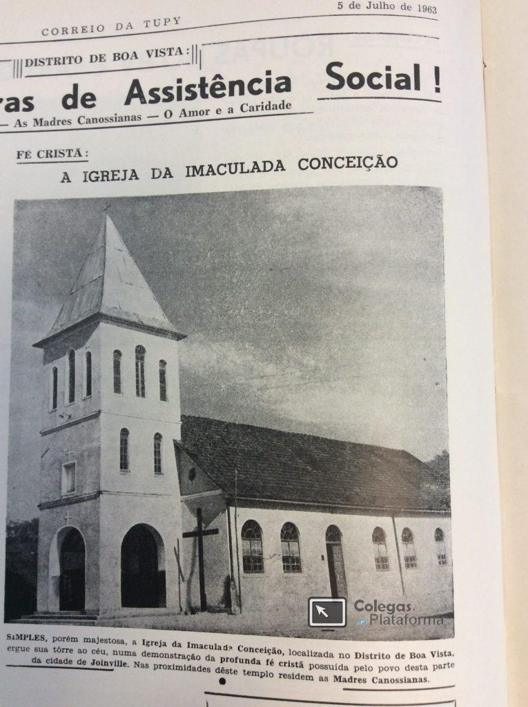 1963 Igreja do BV em 1963