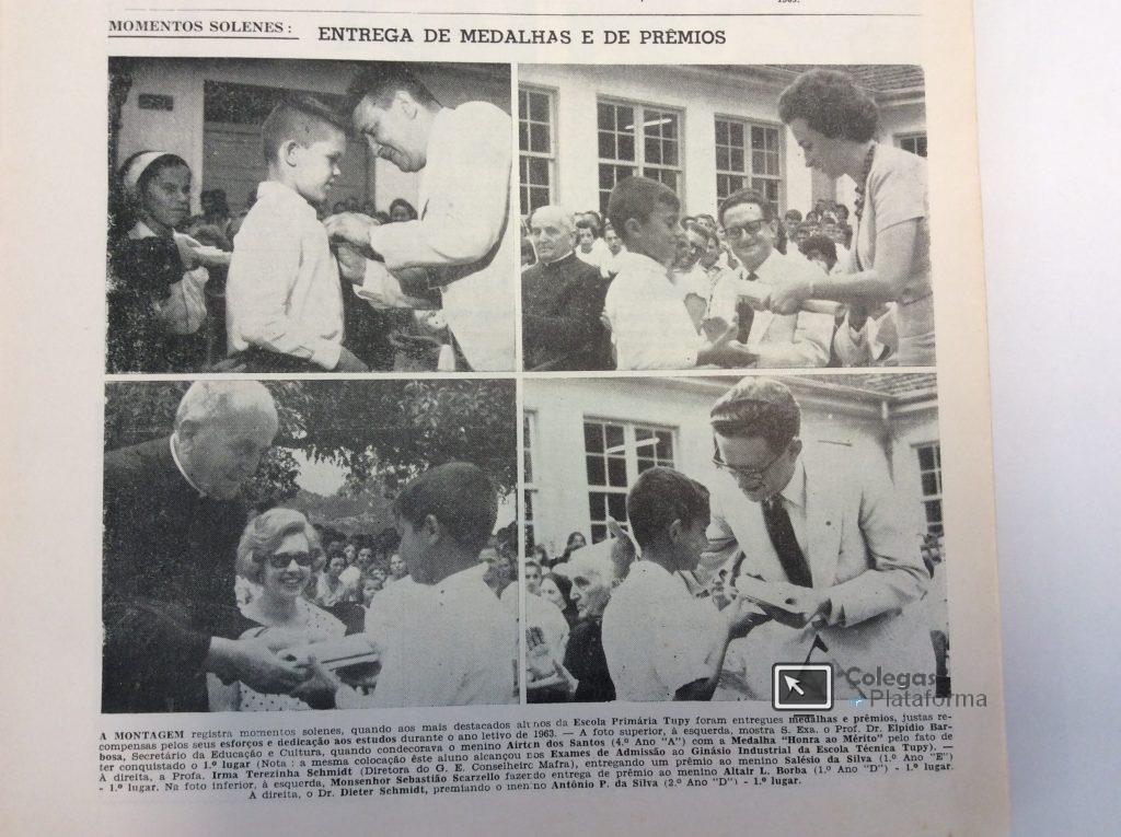 1963 final e melhores alunos