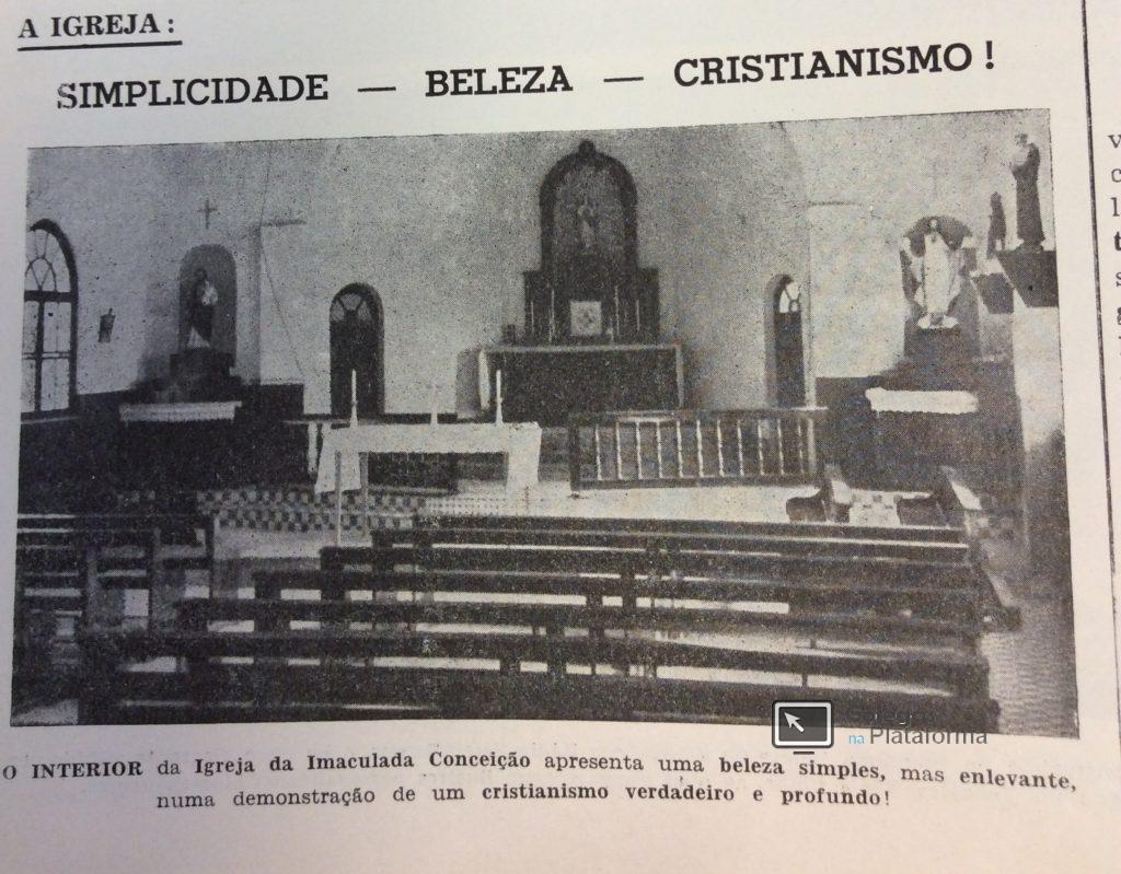 1963 jul Igreja do BV interior