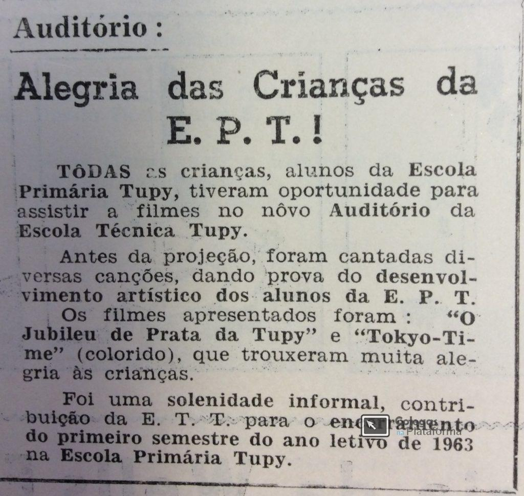1963 jun Auditório da ETT