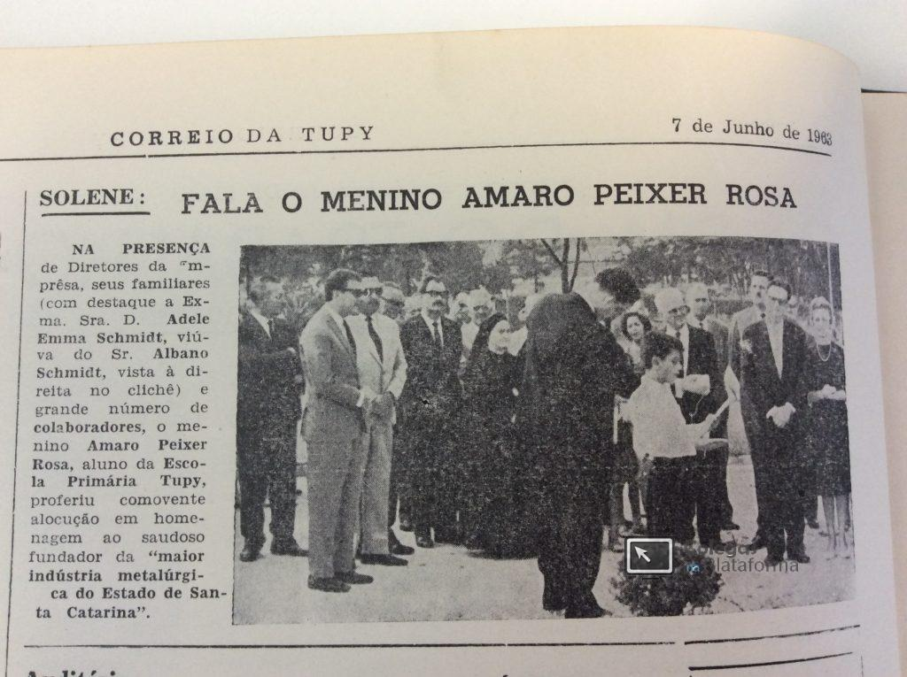 1963 jun Discurso de Amaro Peixer Rosa