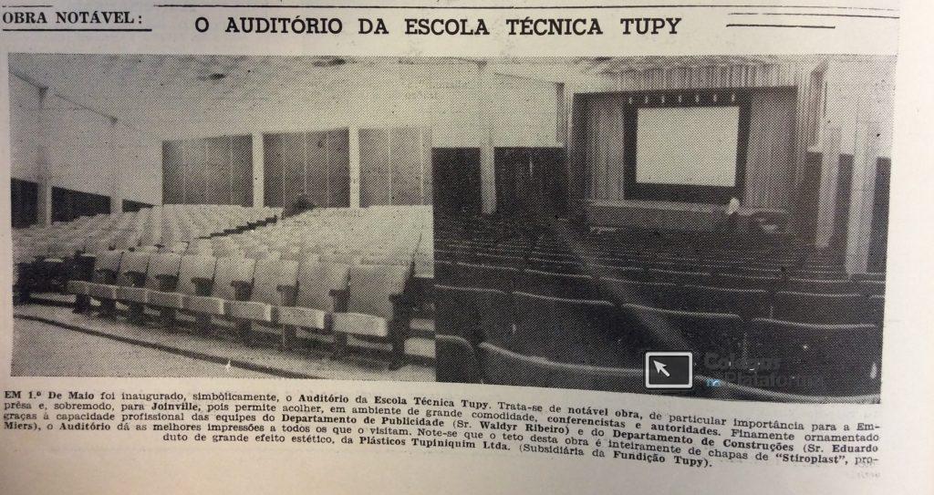 1963 mai Auditório ETT