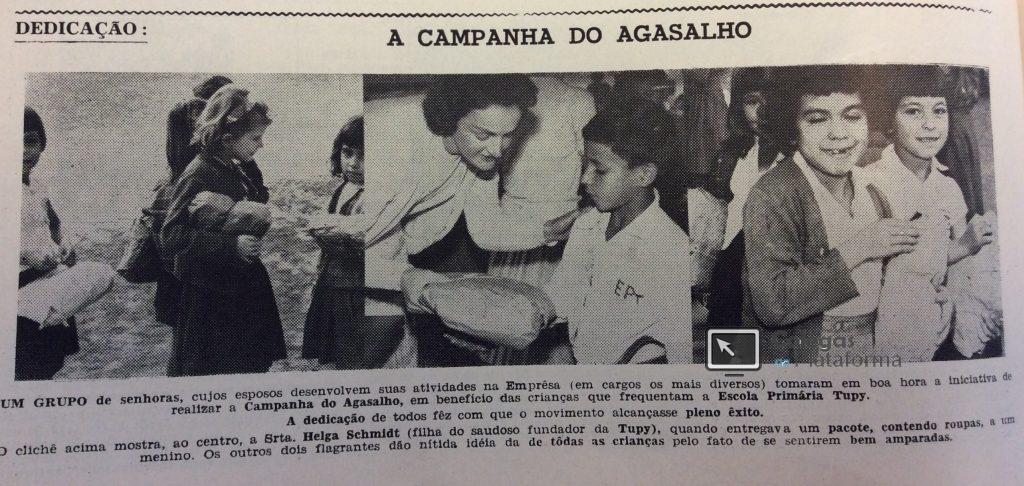 1964 Campanha do Agasalho na EPT