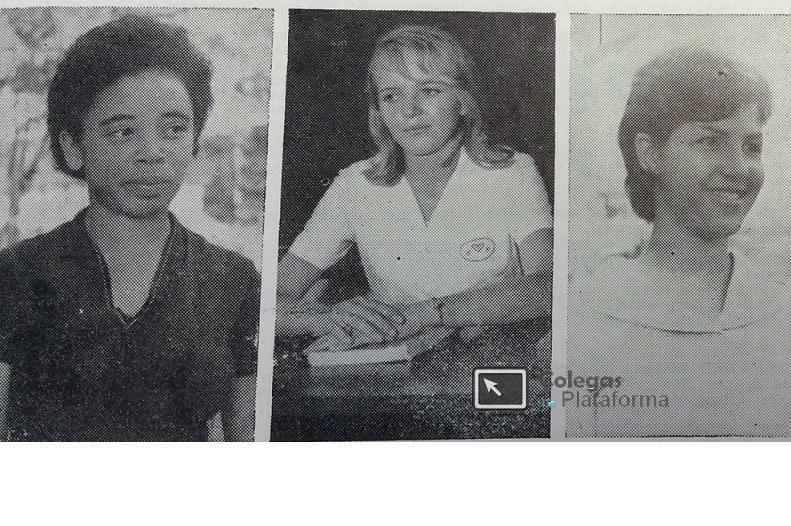 1964 abr Novas professoras