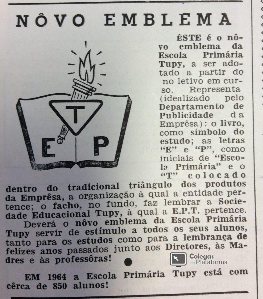 1964 abr Novo Emblema EPT