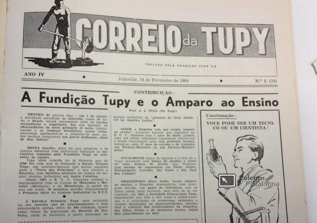 1964 início Tupy e o Ensino