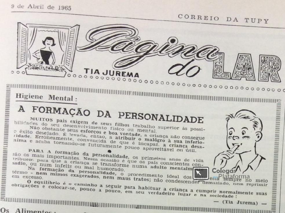 1965 Artigo Tia Jurema