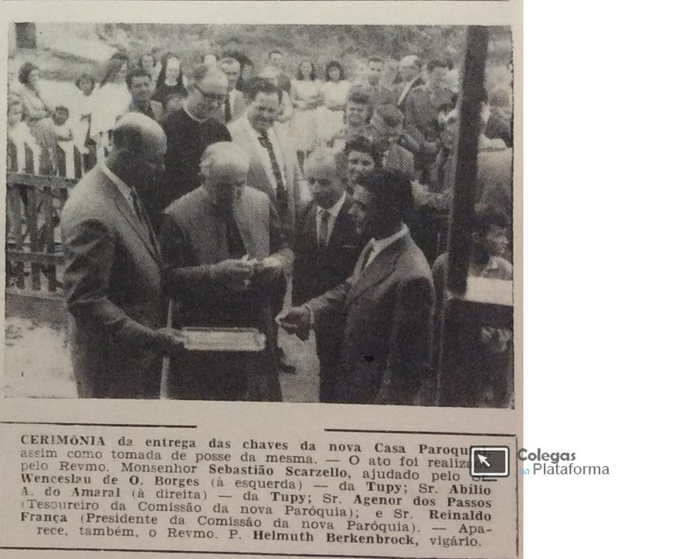 1965 mai Matéria Jornal