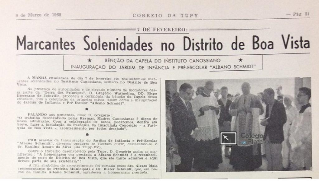 1965 Inauguração Capela Madres I