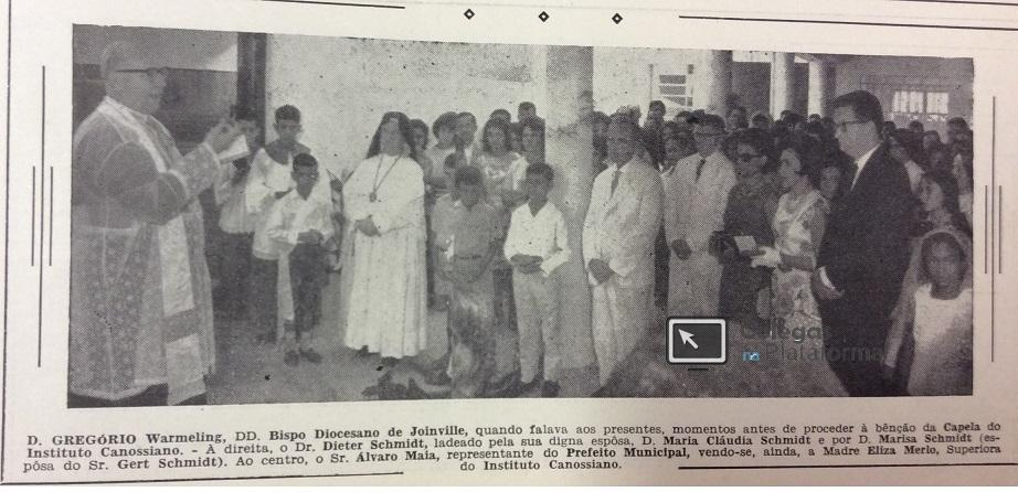 1965 Inauguração Capela Madres