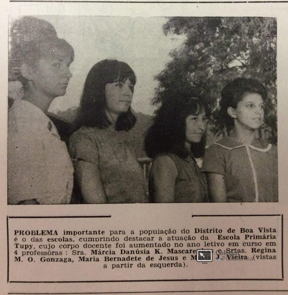 1965 Novas professoras