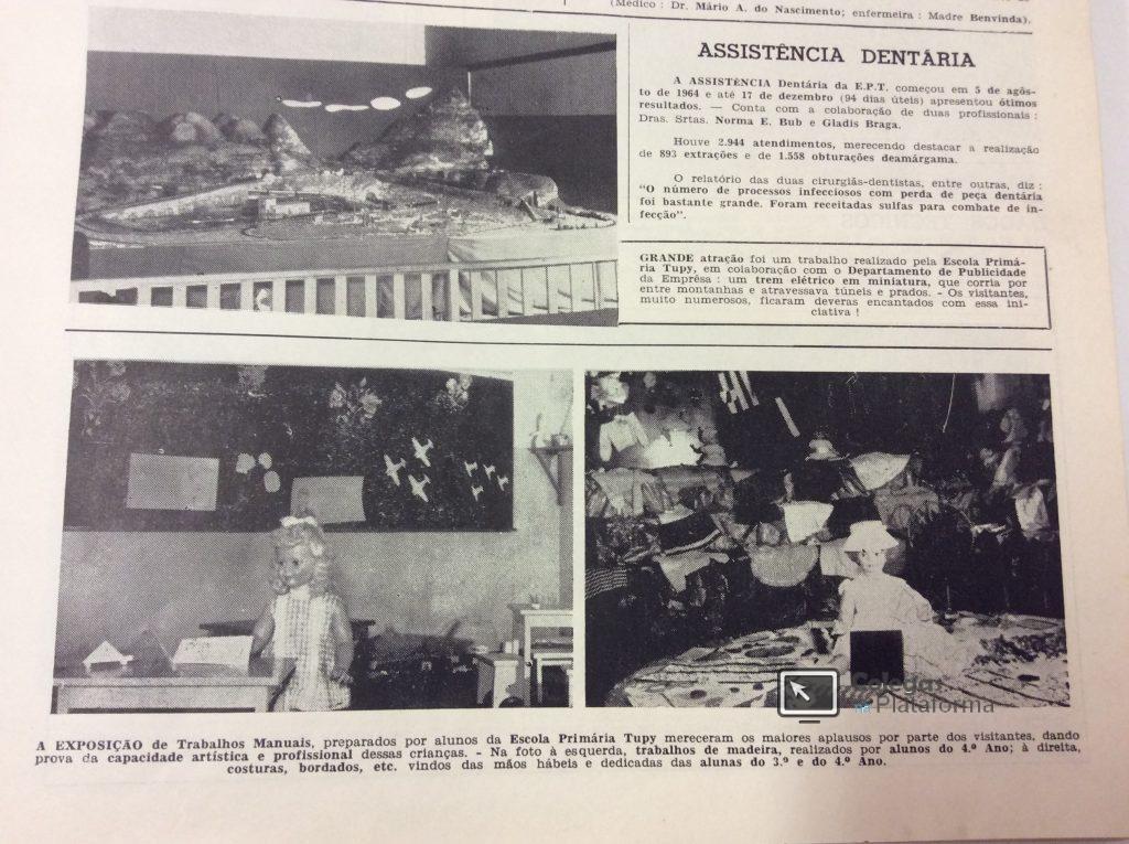 1965 início Trabalhos Manuais