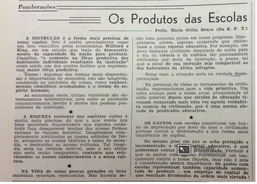 1965 materia A Educação e a Instrução I