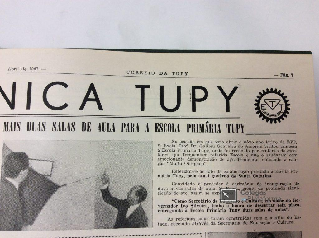 1967 abril Novas Salas EPT