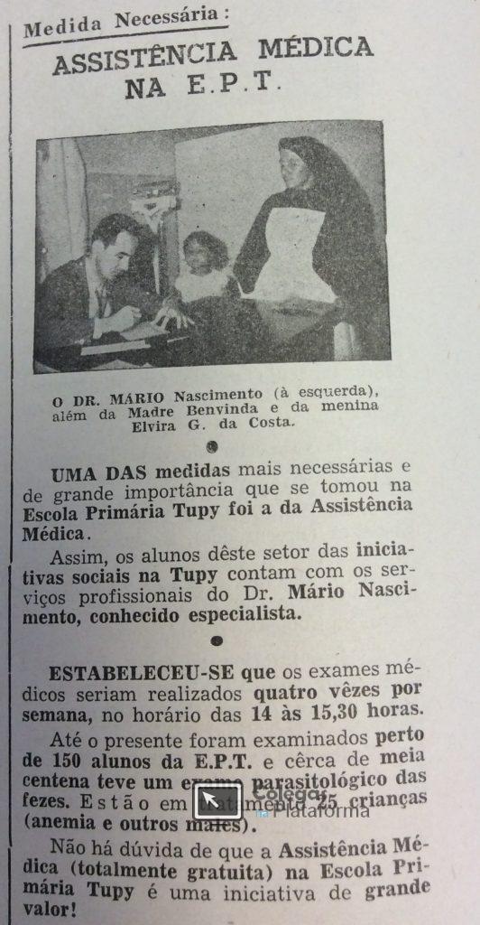 Assist Médica com foto dr Mário